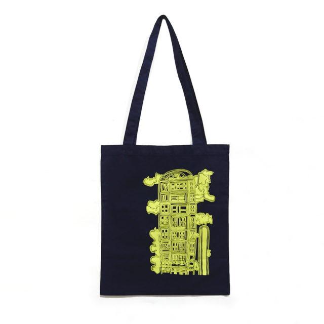 HANA  山野将志トートバッグ(マンション) 2色各¥1,100(税込)