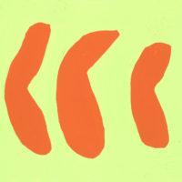 YA-01「オレンジ ミカン 」 2017年 140×178  アクリル・キャンバス  額装価格:30,000円 作品のみ:20,000円
