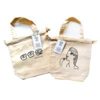 巾着トートバッグ(全2種) 各¥1,650((税込)